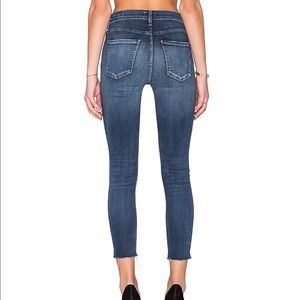 Agolde Jeans - High Rise Skinny Crop
